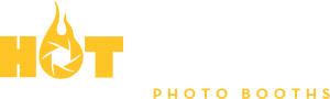 Hotshots Photobooths Logo - White