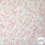 White & pale pink wall 1