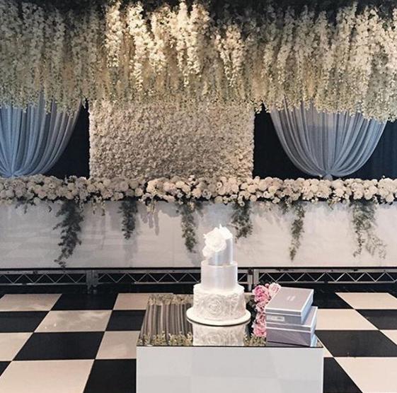 Wedding Flowers Canberra: Flower Wall Hire Sydney